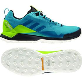 adidas TERREX CMTK GTX Shoes Men mystery petrolmystery petrolsemi solar yellow